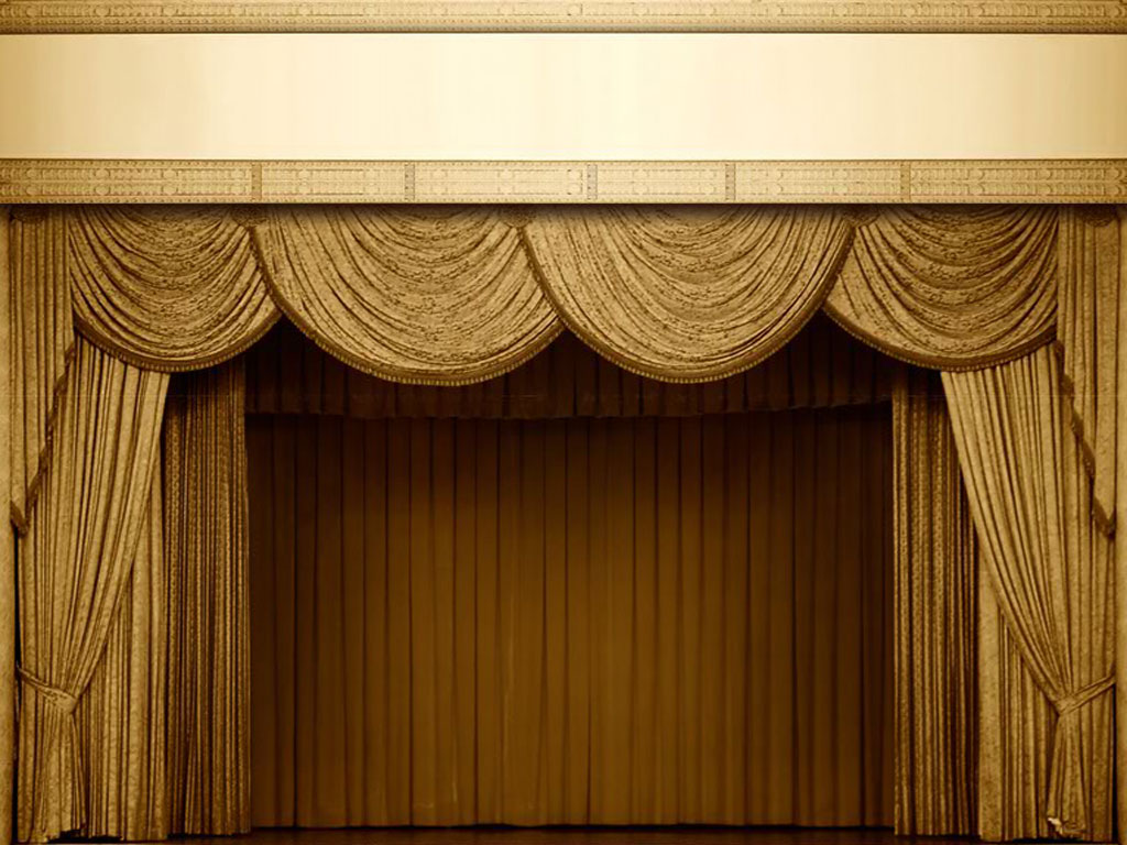theatre curtain backgrounds for powerpoint portland civic players