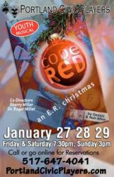 """CODE RED""  January 27, 28, 29"