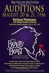Beauty and the Beast - Tryouts August 20 & 21