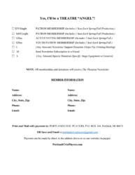 Membership Form 2017