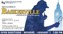 Auditions - Monday, Jan 7